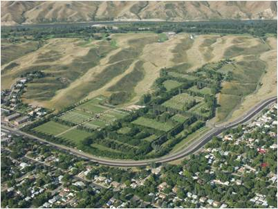 2006 Aerial Photo of Mountain View Cemetery