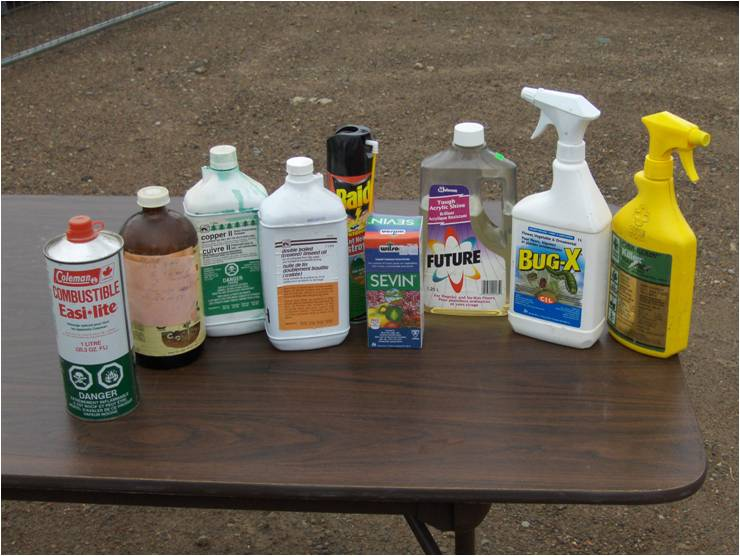 Dangerous Household Items household hazardous waste